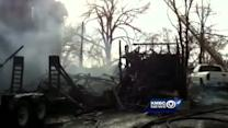 Fire destroys historic home on Thanksgiving