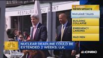 CNBC update: Nuclear deadline could be extended