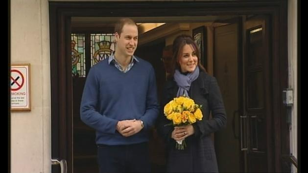 William and Kate have baby boy