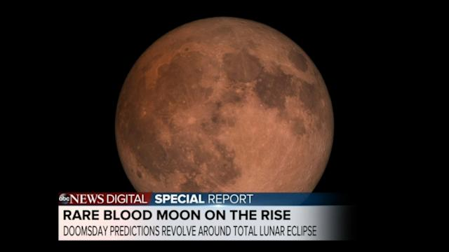 Rare 'Blood Moon' on the Rise