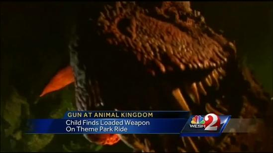 Man who brought gun to Disney World banned from park