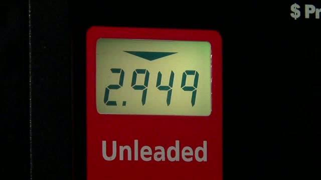 Gas under $3 a gallon