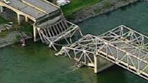 I-5 bridge collapses in NW Washington State