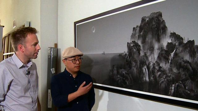Chinese artist evokes the old to criticize new development