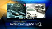 Looming blizzard grounds flights to northeast