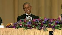 Obama teased at his final Correspondents' dinner