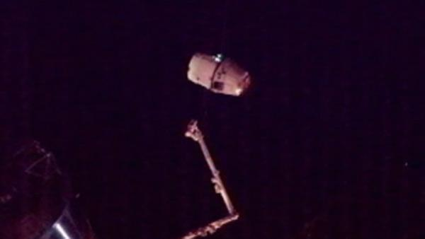 SpaceX Dragon capsule released
