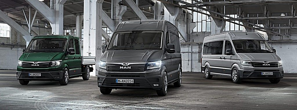 福斯集團旗下商業車品牌MAN推出首部電動廂型車eTGE