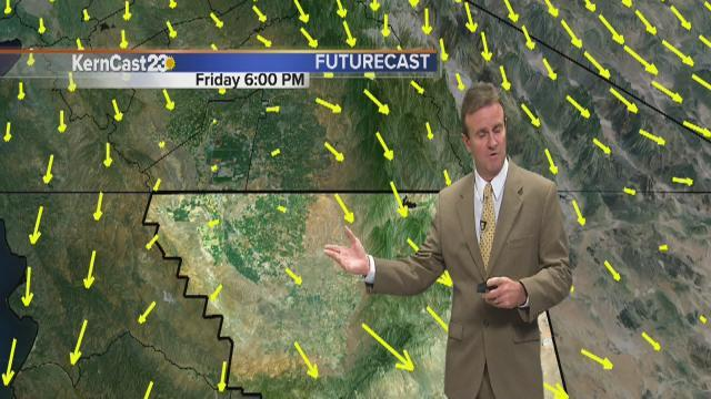 Friday 5 pm Weather Update