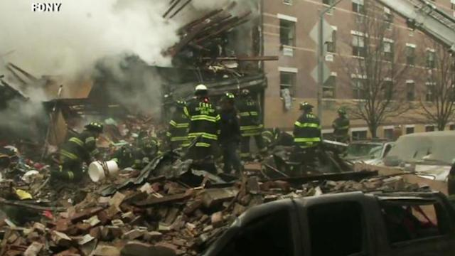 NYC on Edge After Powerful Explosion in Harlem Kills 3