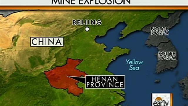 China mine explosion traps 50 miners
