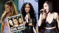Ariana Grande, Nicki Minaj & Jessie J First LISTEN New Song ?BANG BANG?