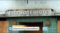 After Fire, Biltmore Hotel Could Be Torn Down By City Of Sacramento