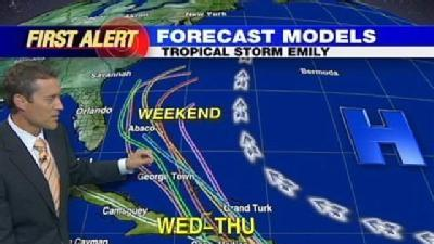 Noon Update On Emily