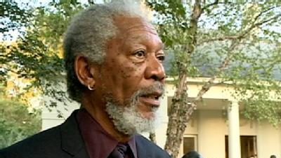 Morgan Freeman Campaigns For Luckett