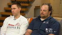 Iraq war veteran forms bond with Boston bombing victim
