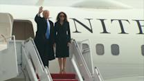 Trump Family Arrives in Washington