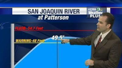San Joaquin River Expected To Recede Soon