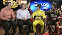 2013 NASCAR Media Day: Matt Kenseth and Jeff Gordon