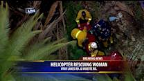 Rescuers Hoist Woman From Dam In Otay Mesa