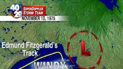 Weather History: Sinking Of The Edmund Fitzgerald