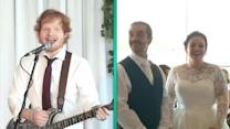 Ed Sheeran Surprises Couple and Becomes the Best Wedding Singer of All Time