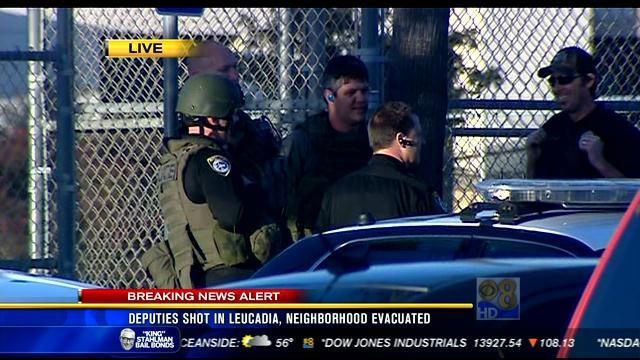 2 deputies shot in Leucadia