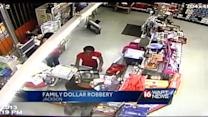 Store robbery caught on surveillance video