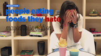 People Eating Foods They Hate: Mayonnaise Edition