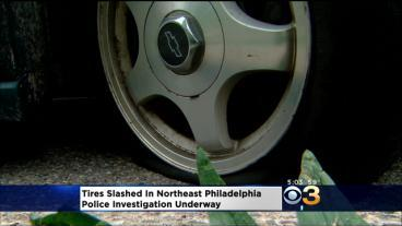Several Tire Slashings Reported In Holmesburg