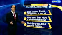 Midweek storm will bring heavy snow