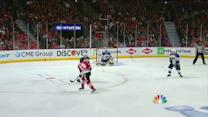 Toews beats Miller five-hole for early goal
