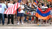 S.Fla. Protests Held On 100th Anniversary Of Armenian Massacre