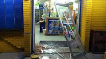 ATM stolen in smash-and-grab theft