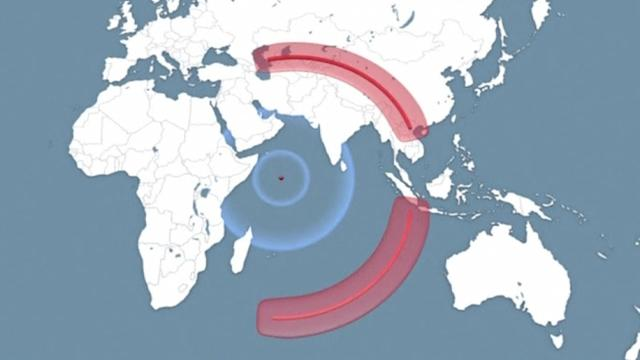 Missing Malaysia Airlines plane's journey ended over Indian Ocean