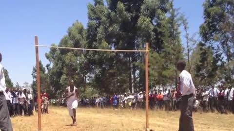 Unbelievable High School High Jump In Kenya