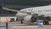 United Airlines ramped up for holiday rush