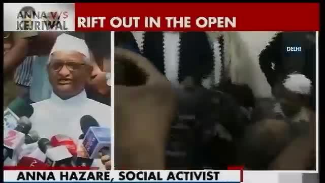 AAP can't use my name in campaign, says Anna Hazare