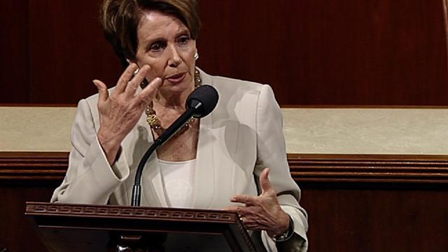Pelosi: Congress must