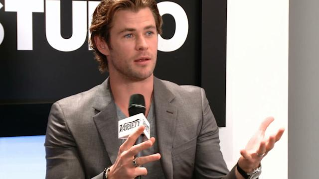 Chris Hemsworth and Olivia Wilde talk Ron Howard 'Moby Dick' Project – TIFF 2013