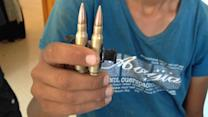Gaza Residents Find Remnants of War in Their Living Rooms