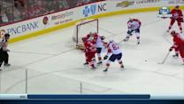 Tim Thomas snatches one from Jordan Staal