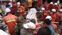 China Quake Death Toll Jumps to At Least 589