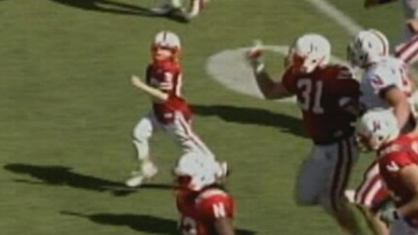 7-year-old cancer patient scores TD for Nebraska Cornhuskers