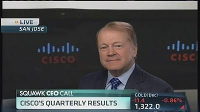 Cisco CEO on earnings beat and layoffs