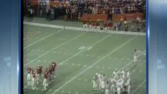 Steve Davis 1975 Orange Bowl footage