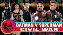 Batman v Superman VS Captain America Civil War: Biggest Superhero Showdown 2016
