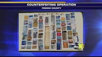 Three arrested in Fresno County for counterfeiting