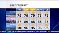 Evelyn Taft's Weather Forecast (Aug. 1)