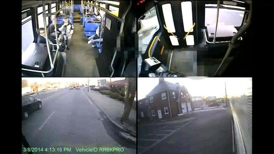 Passengers stop MBTA bus after driver suffers seizure